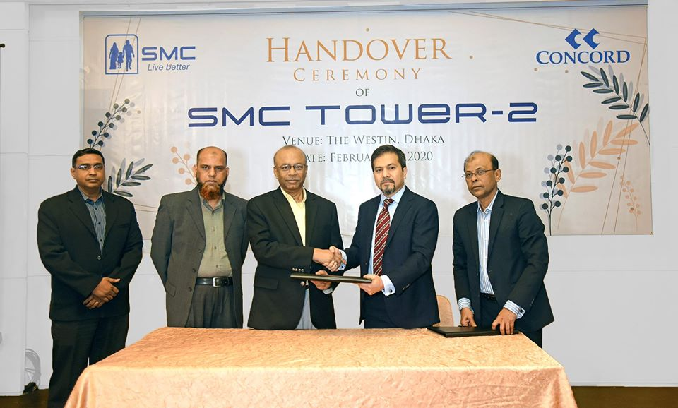 Handing over of SMC Tower-2